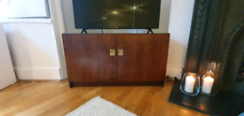 Mid-century dark walnut sideboard/TV stand