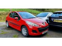 2010 PEUGEOT 207 1.4 S VTi 95 (a/c) RED 5DR DELIVERY AVAILABLE 3 MONTH GUARANTEE