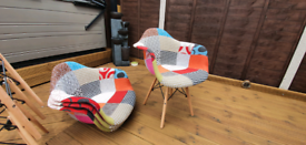 Set of 4 Nordic Chairs.