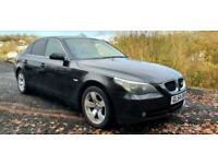 2004 BMW 530d SE 3.0TD AUTO BLACK 4DR E60 TURBO DIESEL NEW MOT FULL LEATHER