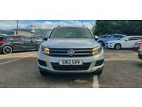 2012 Volkswagen Tiguan 2.0 S TDI BLUEMOTION TECHNOLOGY 4MOTION 5d 138 BHP All Te