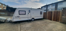 4 birth pegasus bailey padgent2004 caravan and awning and extras