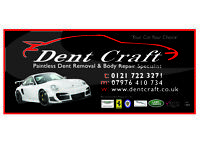 Dent craft tech wanted! car body repairs, prep/painter must have some experience or keen to learn