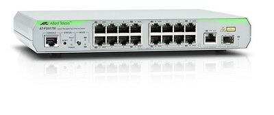 Allied Telesis 16-Port Fast Ethernet Managed Access Switch 1 SFP - AT-FS917M-50