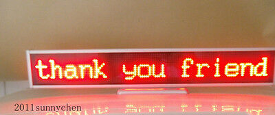 16128 Led Display Board Message Scrolling Programmable Red