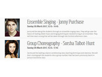Yeovil School of Musical Theatre - Workshops Taught by London's West End Professionals