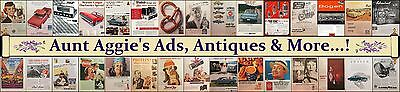 Aunt Aggies Ads Antiques and More