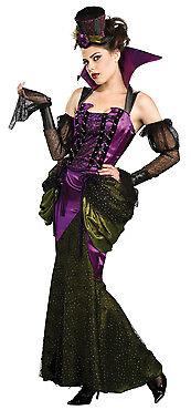 Halloween Damen Kostüm viktorianische Vampirin gruselig edel