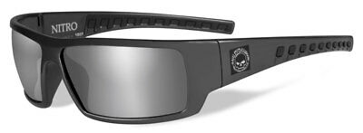 Harley-Davidson Men's Nitro Silver Flash Sunglasses, Shiny Gray Frames (Cheap Men S Sunglasses)