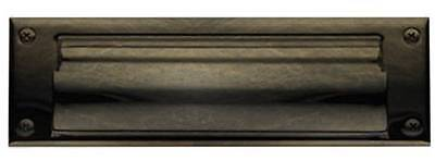 BALDWIN LETTER BOX PLATE 0017.050 Hinged Magazine Size Satin Brass NEW (Baldwin Letterbox Plate Magazine)