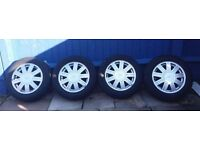 Ford fiesta ghia wheels
