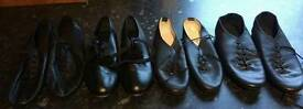 Jazz and tap dance shoes size1
