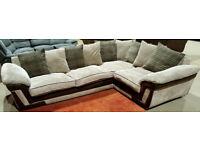 Corner Sofa - Beige. Can deliver
