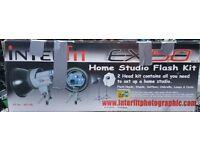 Interfit EX150 home studio flash kit