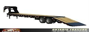PJ Trailers (LY)  30 ft Low-Pro Tandem Dually Hydraulic Tilt