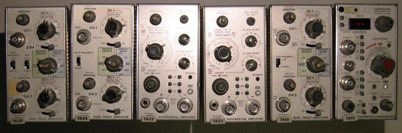 1 Tested Tektronix module 7000 series 7A26 dual trace amplifier
