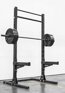 SML-2 Rogue 90 - Monster  Squat Stand + Safety Spotter Arms