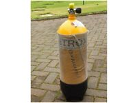 15 Litre Dive cylinder good condition but requires test