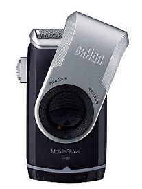 Braun Mobile Shave M-90 Men's Portable Electric Foil Shaver