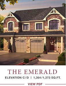 Brand new semi detached house in East Gwillimbury