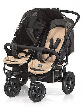 Double Pushchair Twin Buggies Amp Prams Ebay