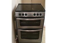 BELLING STAINLESS STEEL 60cm ELECTRIC COOKER, EXCELLENT CONDITION, 4 MONTHS WARRANTY