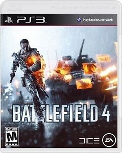 PS3 Battlefield 4 Game For Sale