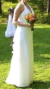Wedding/formal ivory dress, size 10