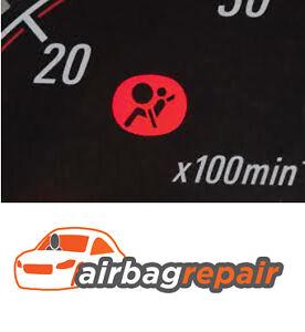 RENAULT CLIO, LAGUNA, MEGANE, SCENIC, AIRBAG ECU SRS MODULE RESET REPAIR SERVICE