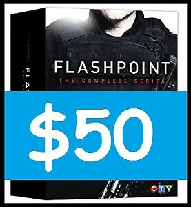 FLASHPOINT Series on DVD (COMPLETE!) --- $50 ONLY!!