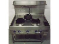 Falcon 3 Burner Gas Wok Cooker Hire/Buy over 4 Months using Easy Payments