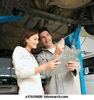 SAVE$$$LICENCED MECHANIC WITH SHOP $50.00 HOURLY