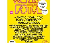 We Are Fstvl, ViP plus 3 days camping x2