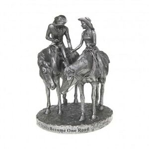Montana Silversmiths Cake Topper When Two Trails Become One
