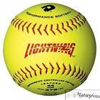 11 Yellow Softballs