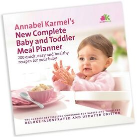 Annabel Karmel's New Complete Baby & Toddler Meal Planner book, £5