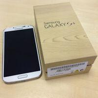 SAMSUNG GALAXY S4 - AS BRAND NEW - WHITE - FIDO NETWORK