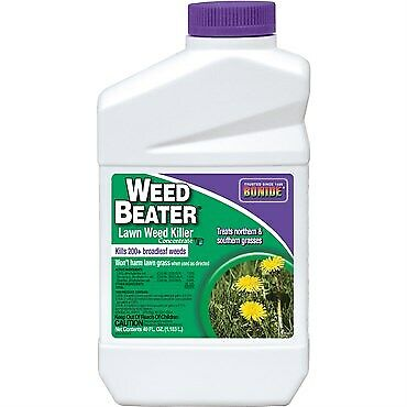 Bonide Weed Beater Lawn Weed Killer, Concentrate, 40 Fl Oz