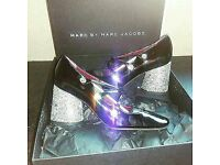 Marc Jacobs Glitter Mary Jane's Size 3
