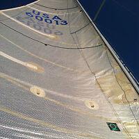 Set of three QUANTUM custom race sails