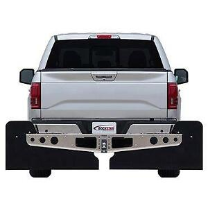 Rockstar Mudflap Smooth Mill Dodge Ram 2500/3500 09-15