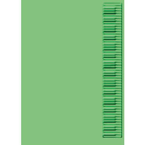 "Cuttlebug 5""x7"" KEYBOARD embossing folder - $9"