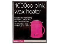 Beauty salon/room pink Wax heater pot