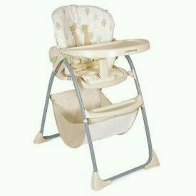 Highchair with extra Seat cover for Sale!