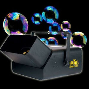 Rent one or both of our bubble machines