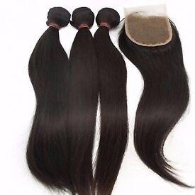 Brazilian/Peruvian/Mongolian Virgin Hair