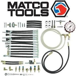 NEW MATCO FUEL PRESSURE TEST SET - 118716938 - MASTER