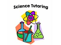 GCSE SCIENCE (CHEMISTRY, BIOLOGY AND PHYSICS) TUTORING AVAILABLE