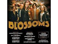 2 x Blossoms Tickets Manchester Albert Hall Sat 03/12