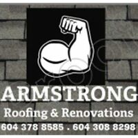 Armstrong Roofing & Renovations- Great Savings
